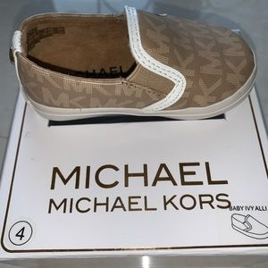 Michael Kors (MK) slip on baby sneakers